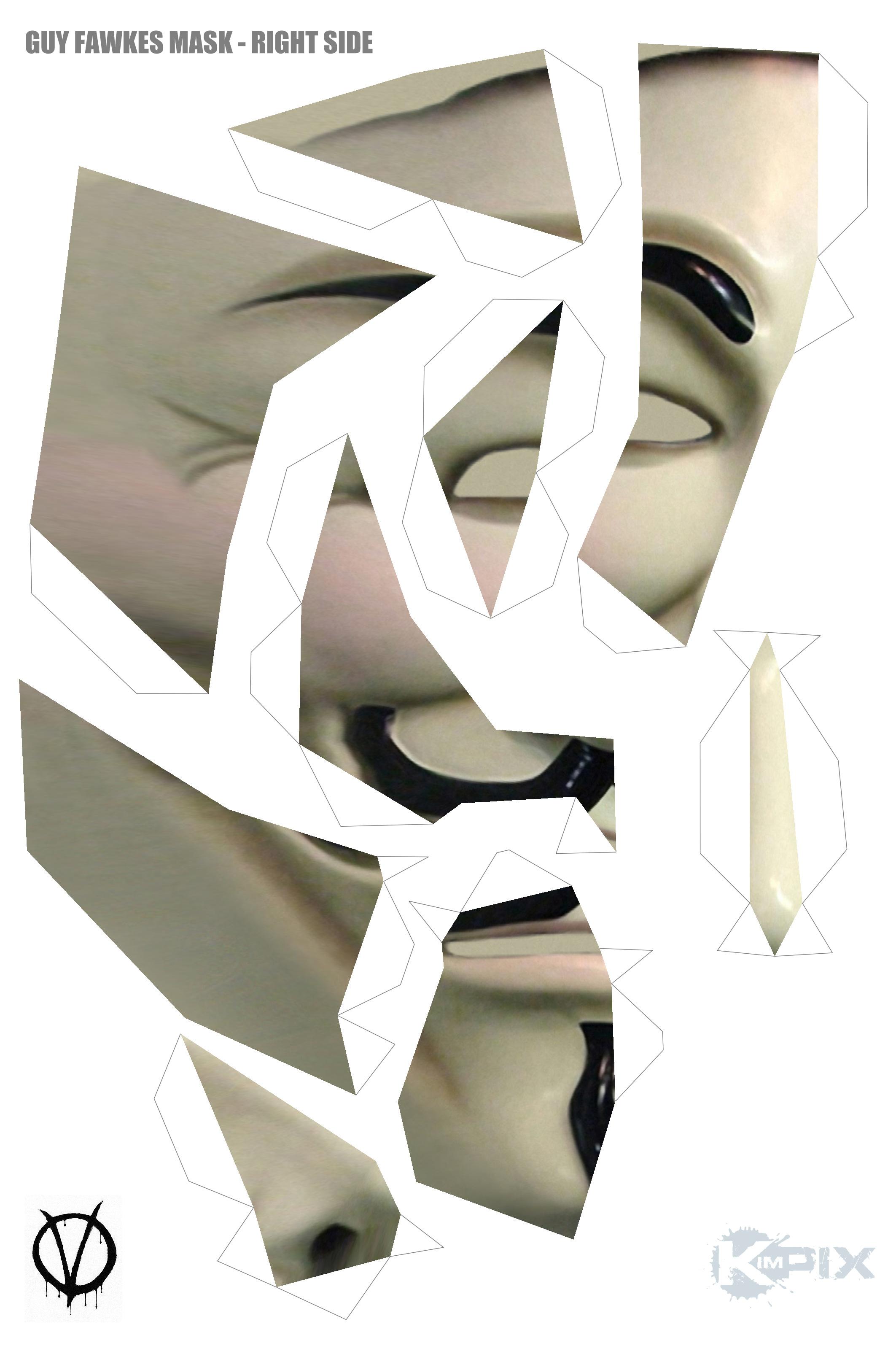 Как сделать маску 44